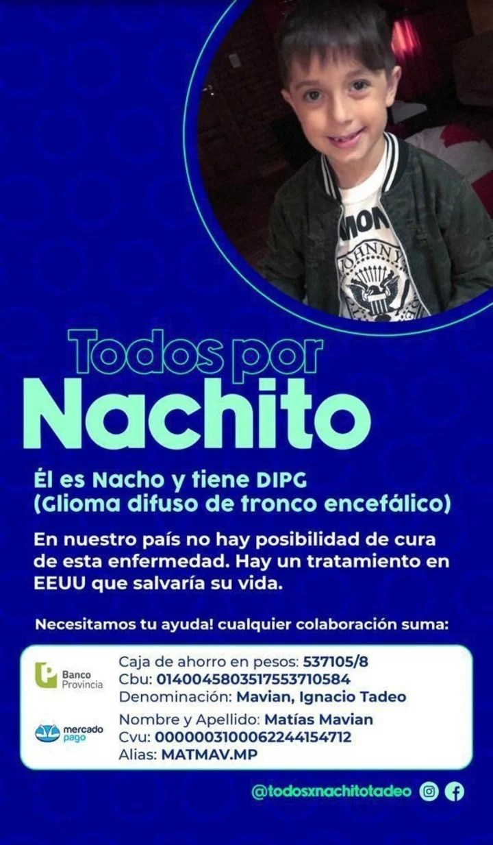 The campaign flyer by Nachito.