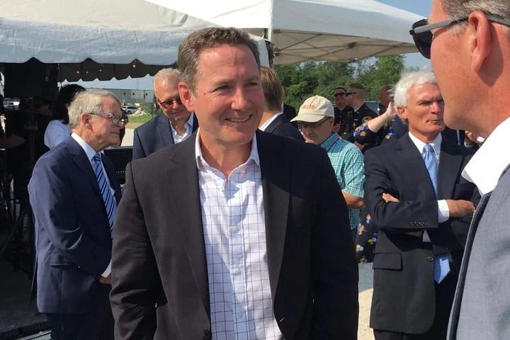 Peloton CEO John Foley.  Photo: AP