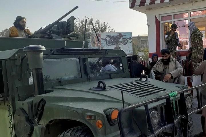 Taliban advance towards taking control of Kabul.  Photo: AP