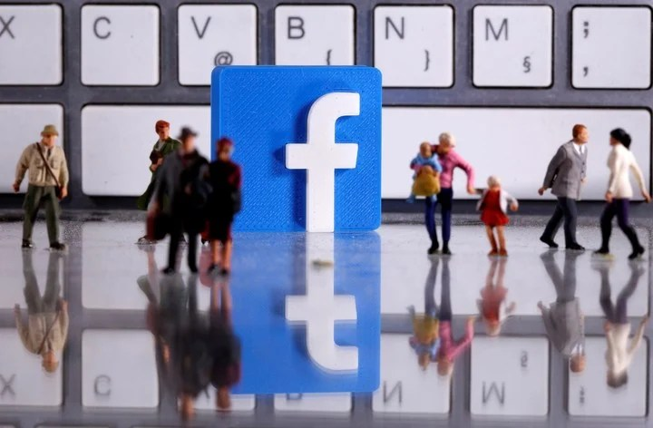 There is a parallel dimension to celebrity-only Facebook.  Reuters photo