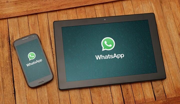 WhatsApp on tablets.  Photo: Shutterstock