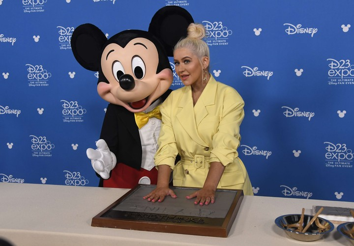 Christina Aguilera - The actress and singer also had dramatic sequels after her stint as a Disney artist.  AFP photo