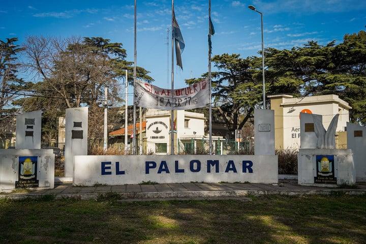 El Palomar has an identity associated with aviation.  Photo: Rafael Mario Quinteros