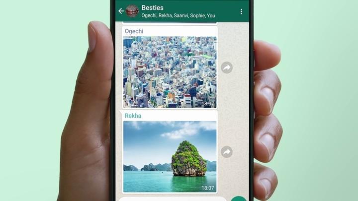 WhatsApp increasingly resembles a social network.