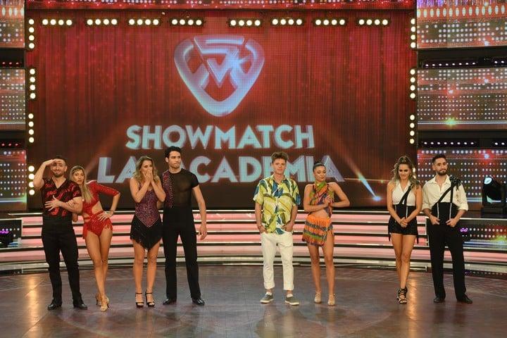 "Couples sentenced in ""ShowMatch"".  Photo LaFlia / Jorge Luengo."