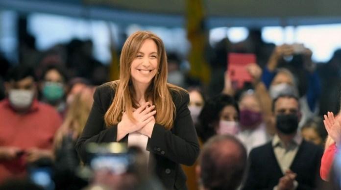 María Eugenia Vidal, en el su campaña electoral de cara a las PASO 2021