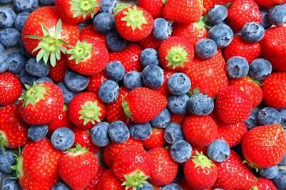 Las frutas y verduras rojas tienen fuerte capacidad antioxidante.