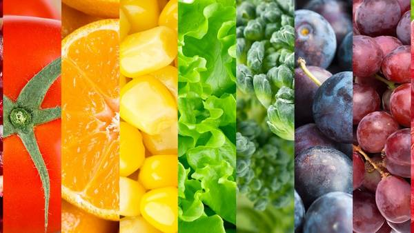 Lo ideal es consumir unos 400 gramos al día de frutas y verduras.