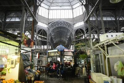 Mercado de San Telmo. En Defensa al 900. / David Fernández
