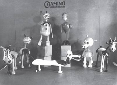 Autodidacta y emprendedor: en pleno auge de la sustitución de importaciones, Salas Subirat montó una fábrica de juguetes, los Chaminú | Foto: Gentileza Penguin Random House