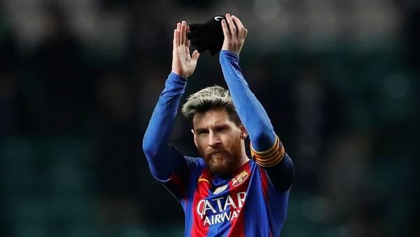 Lionel Messi será titular en el Barcelona. (Reuter)