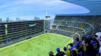 Bombonera. El proyecto de rediseño de la cancha de Boca Juniors.