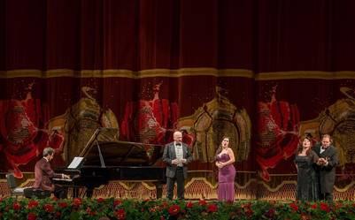 Gala lírica de la Fundación Teatro Colón.