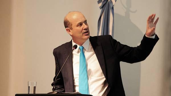 Federico Sturzenegger, presidente del Banco Central.