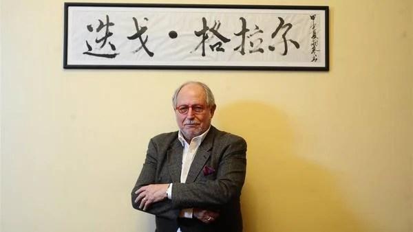 Diego Guelar, embajador argentino en China. FOTO GERMAN GARCIA ADRASTI