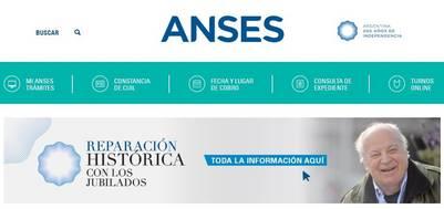 La reparación histórica en ANSES   repacion historica a jubilados de la anses pagina internet de la anses pago jubilaciones