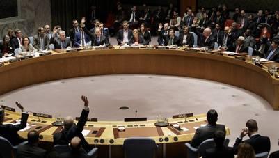 """Los miembros del Consejo de Seguridad de la ONU aprueba una resolución que condena la política israelí de asentamientos y exige su cese """"inmediato"""" y """"completo"""". EFE/Justin Lane"""