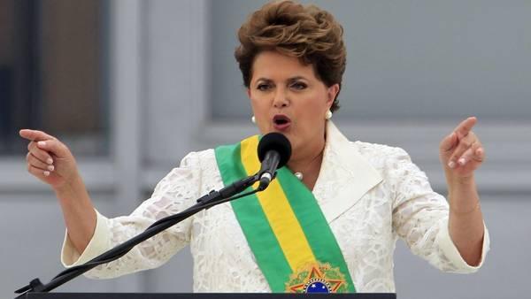 Dilma Rousseff, en enero de 2011en el palacio del Planalto.  REUTERS
