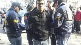 "Detenido. Ramon Ezequiel ""Monchi"" Machuca. Télam"