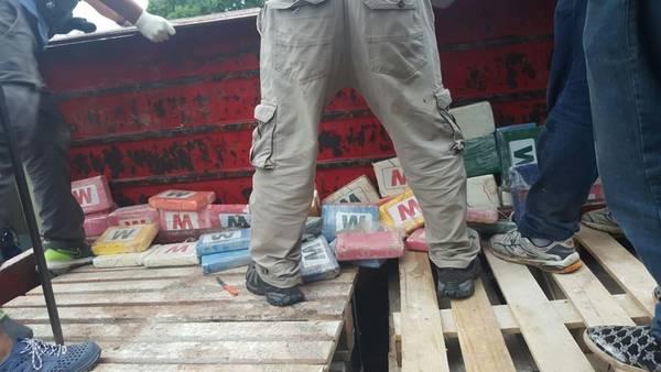La cocaína incautada en febrero en Santiago del Estero.
