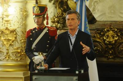 07 04 16 Pais Conferencia de Prensa del Presidente Mauricio Macri. Gobierno. Foto Diego Waldmann.
