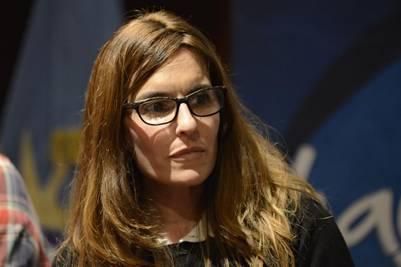 Virginia García, cuañada de Máximo Kirchner y otra espada de La Cámpora en el Senado.