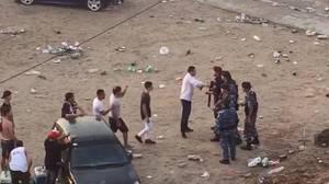 Batalla campal durante los festejos en Villa Gesell