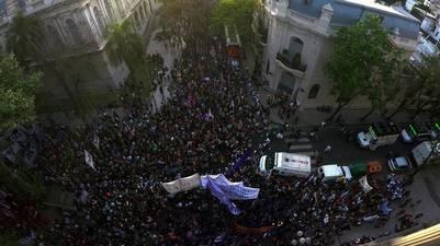 Encuentro Nacional de Mujeres en Rosario.