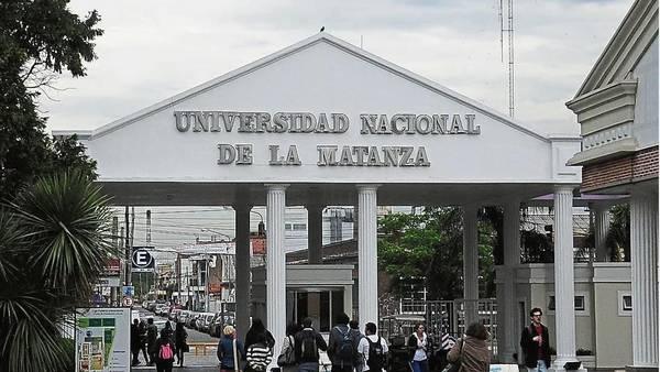 Universidad de La Matanza.