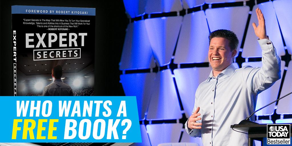 """Russell Brunson's Free Book """"Expert Secrets"""""""