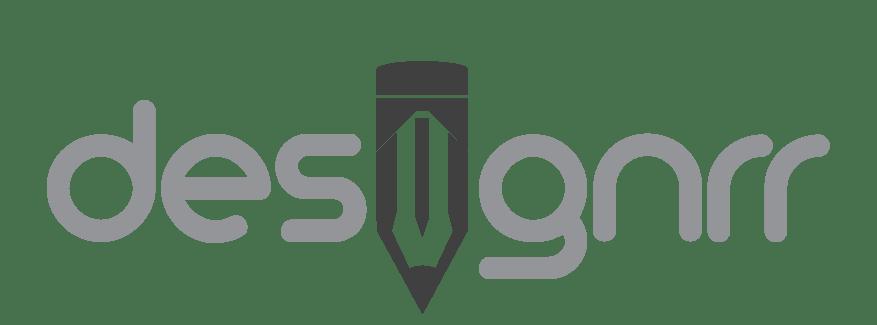 Designor logo shwoing the i as a pencil.