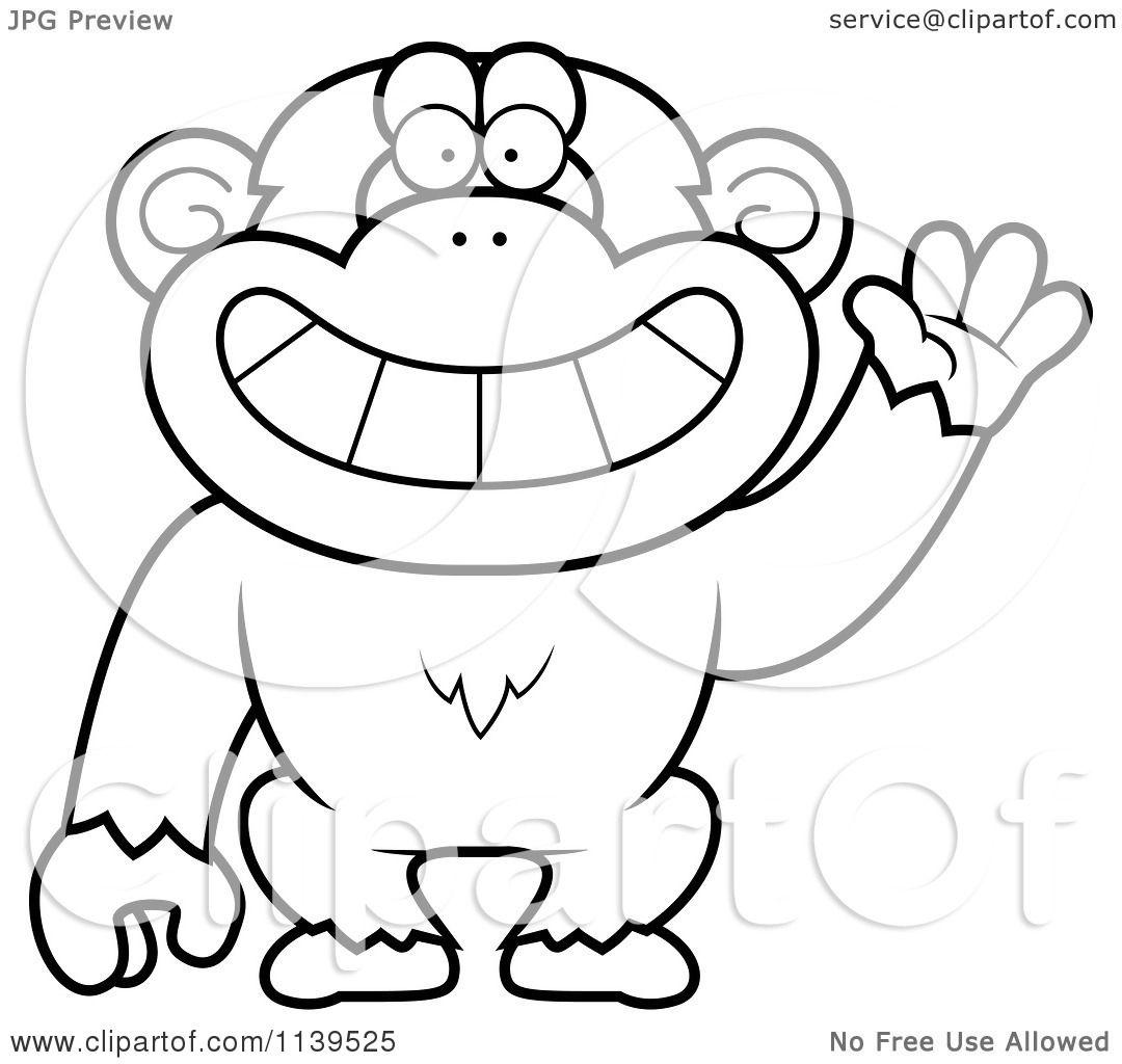 Bts V Monkey