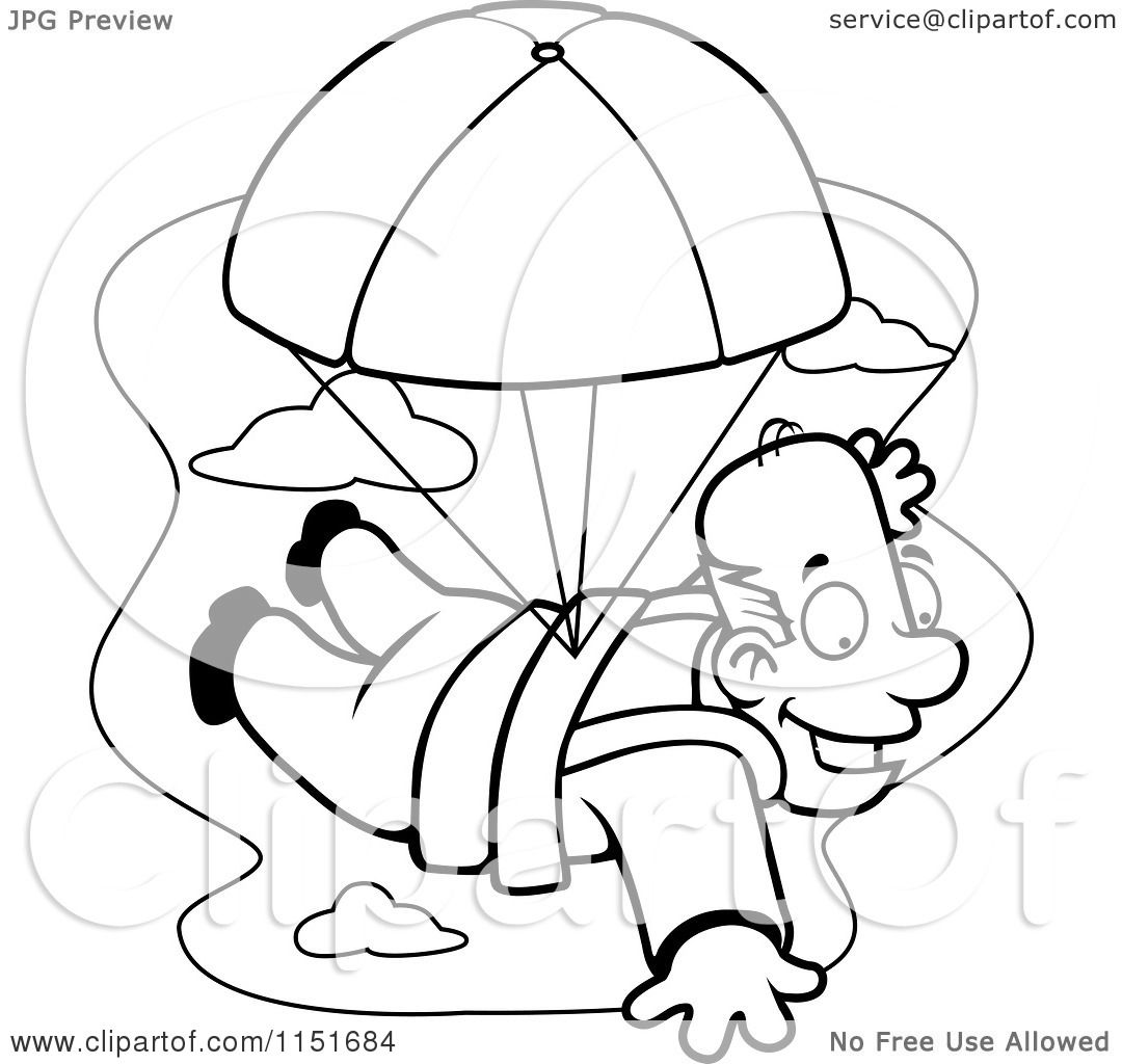 Paratrooper Coloring Pages