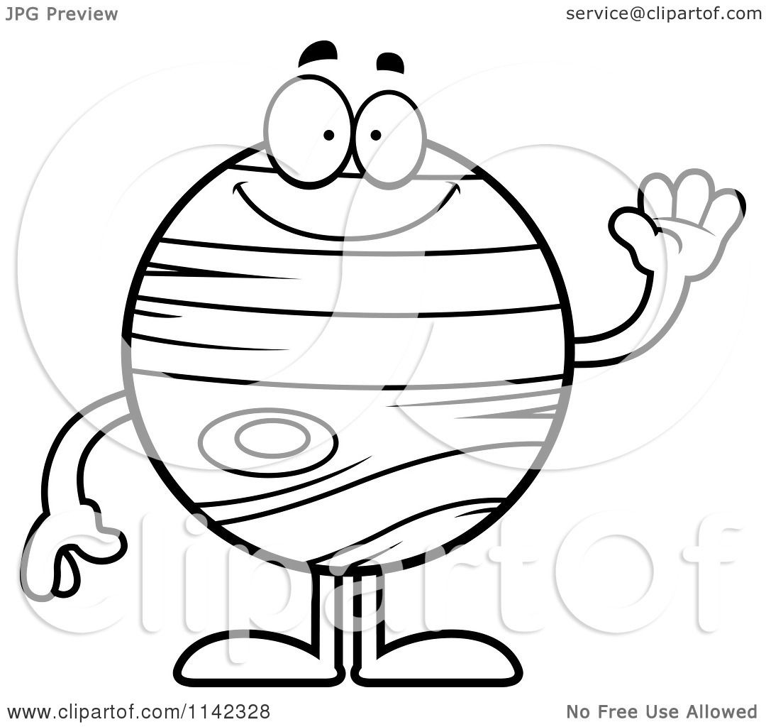Solar System Clipart Black And White Page 3