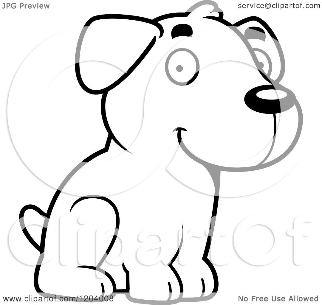 free labrador puppies coloring pages