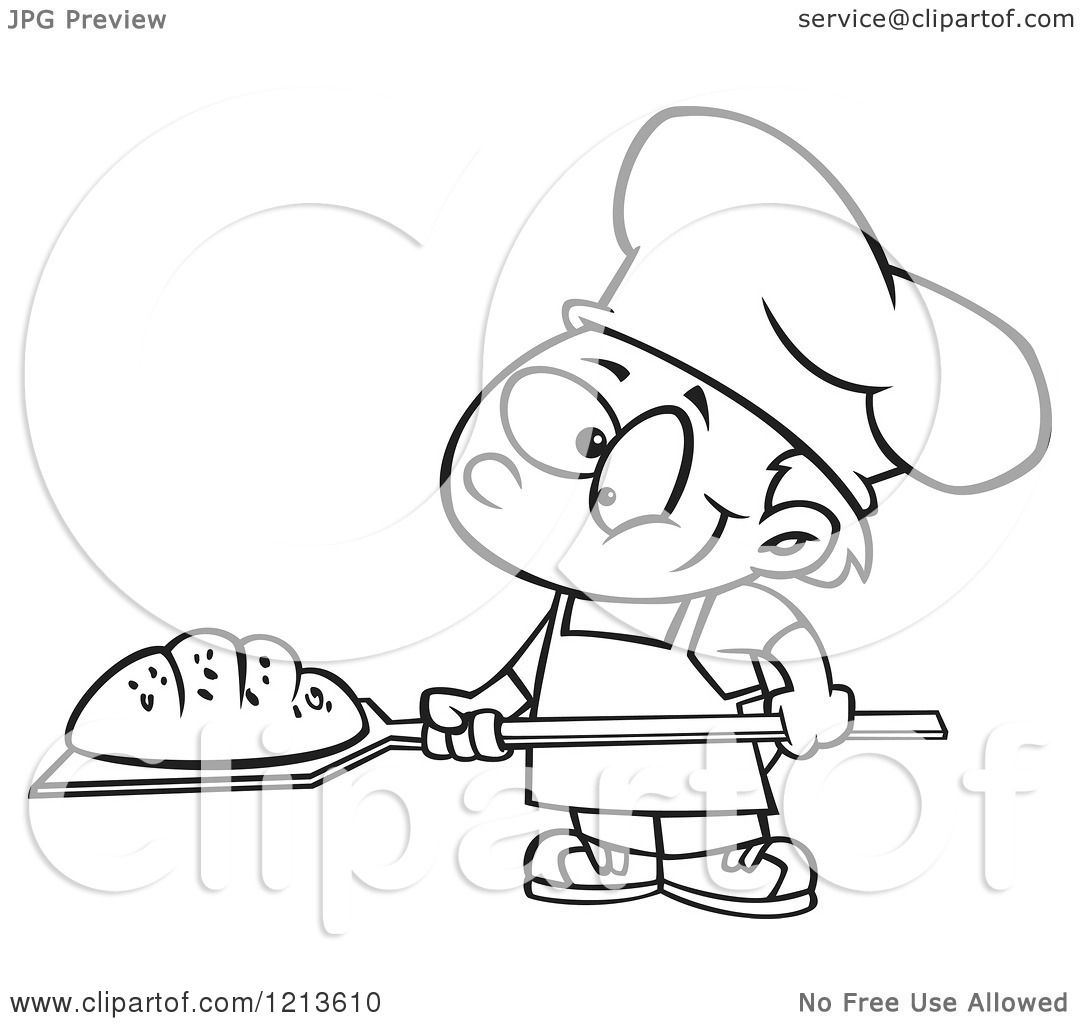 Bakery Vector Black And White