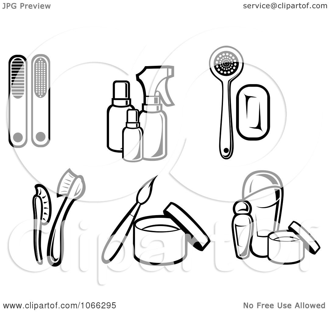 Cosmetic Free Clipart