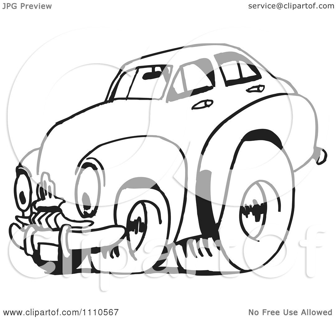 Clipart Black And White Racing Fj Holden Car 2