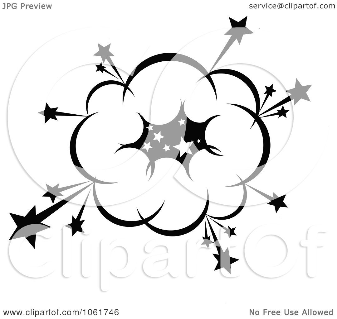 Clipart Comic Explosion Design Element 9