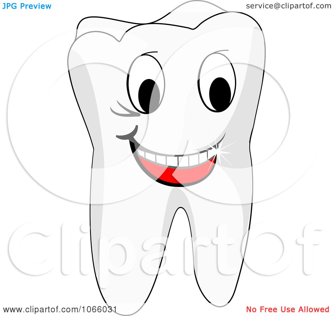 Clipart Happy Tooth