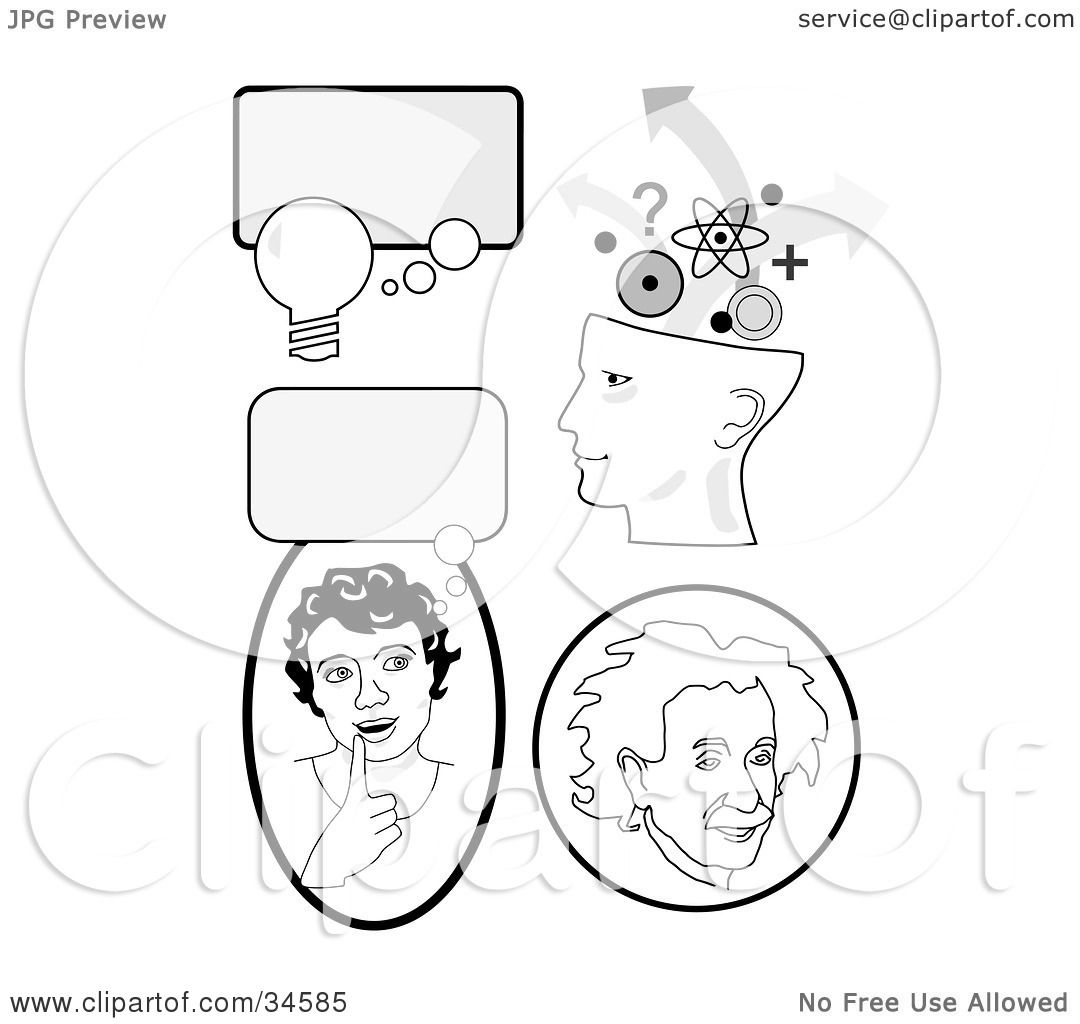 Clipart Illustration Of A Set Of Educational Icons With