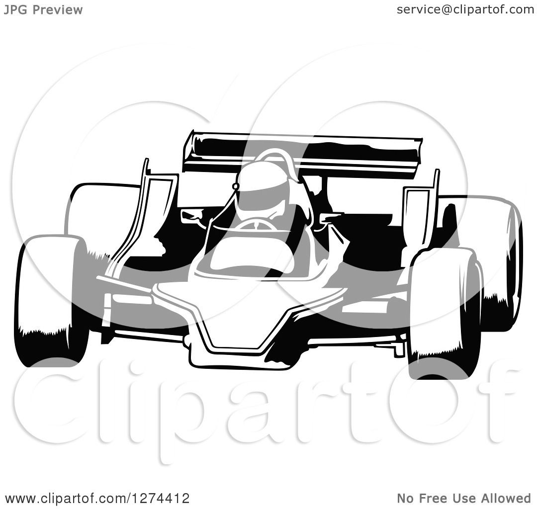 Race Car Clipart Free