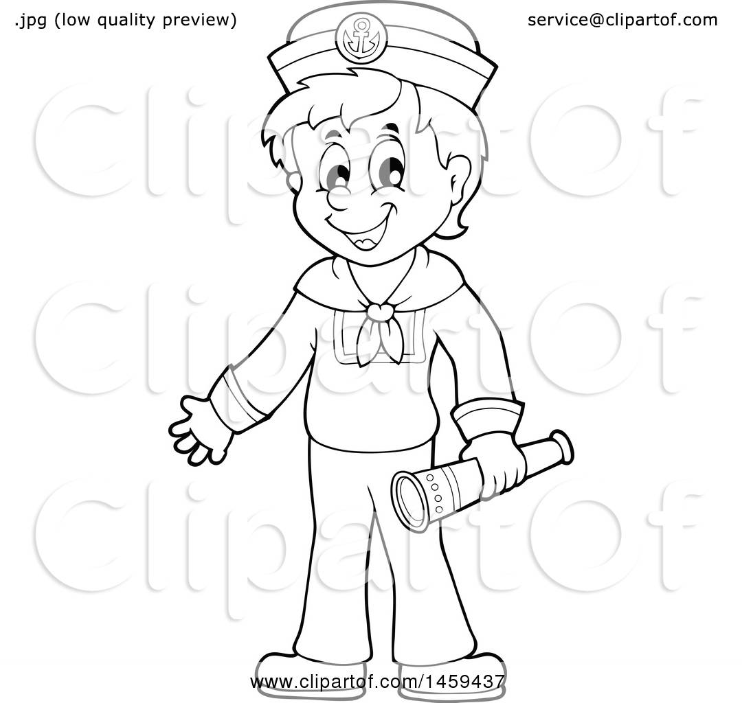 Sailor Clipart Boat