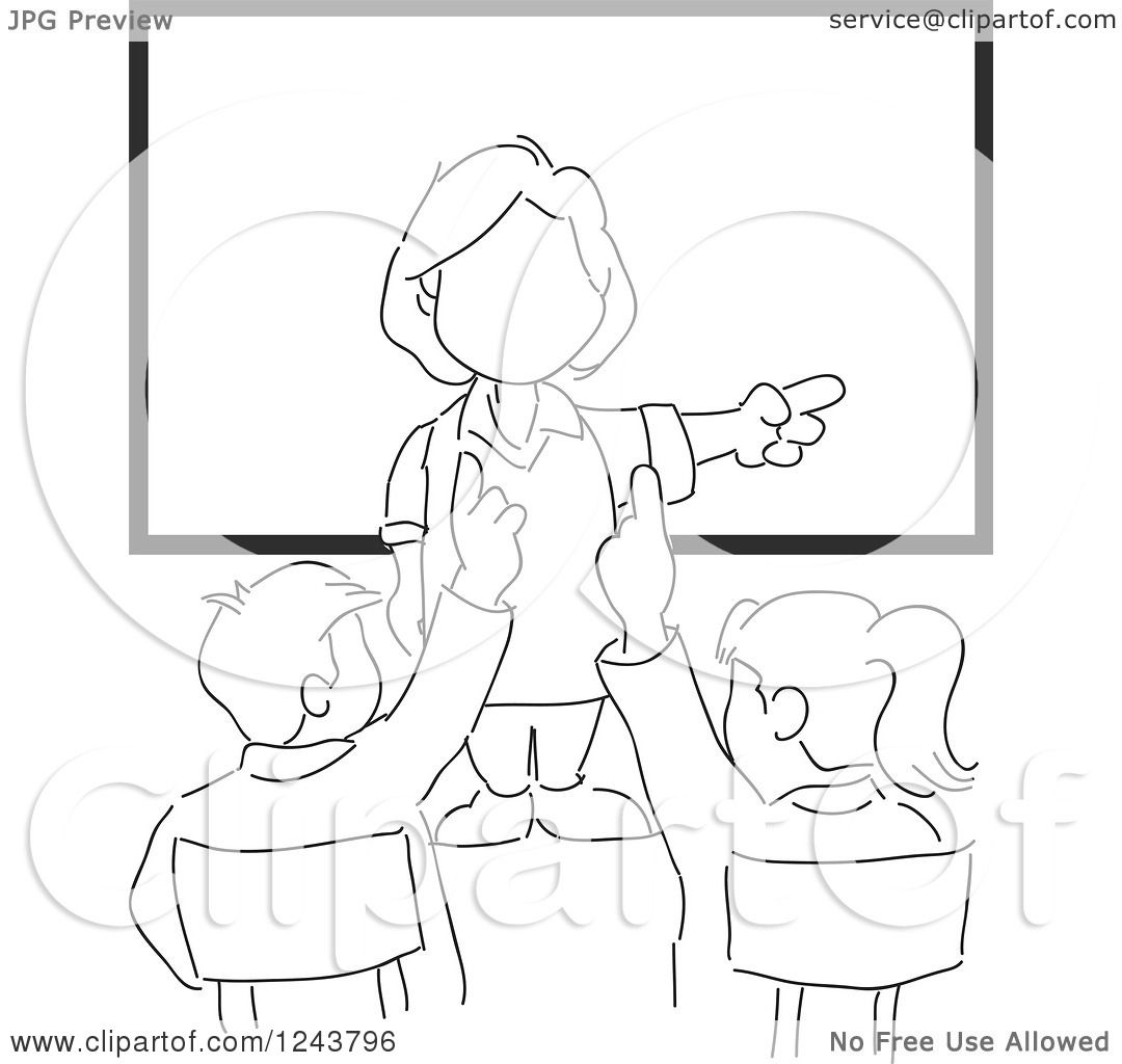 Teacher Sketch Pictures To Pin