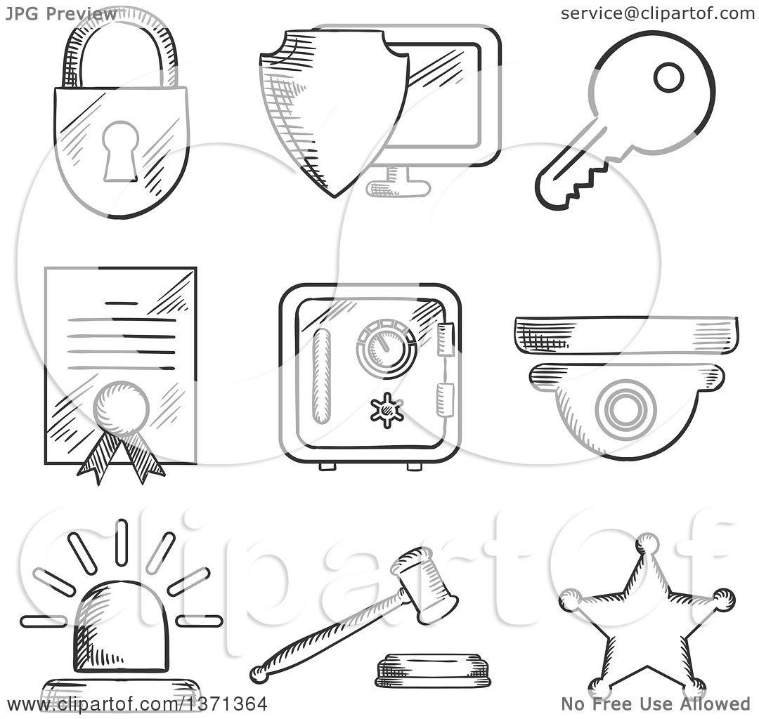 Virus Computer Security Clip Art Cliparts