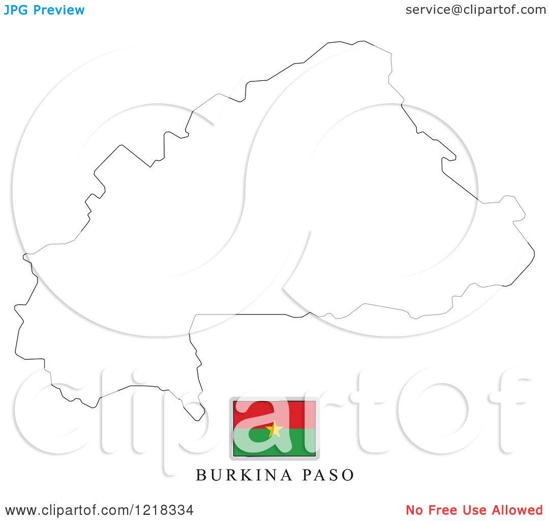 Burkina Faso Flag Coloring Pages