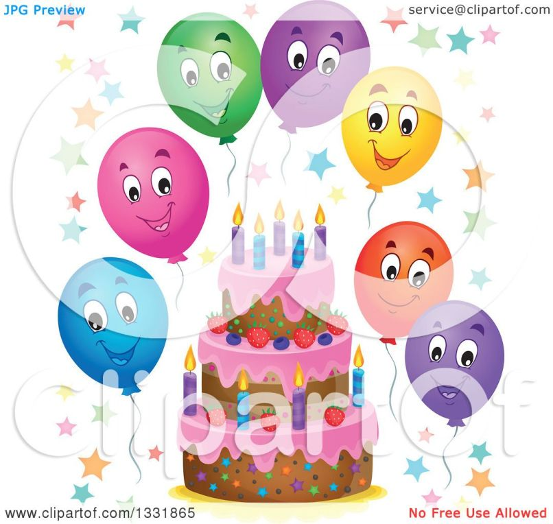 Cartoon Birthday Cake Pictures Free Reviewwalls