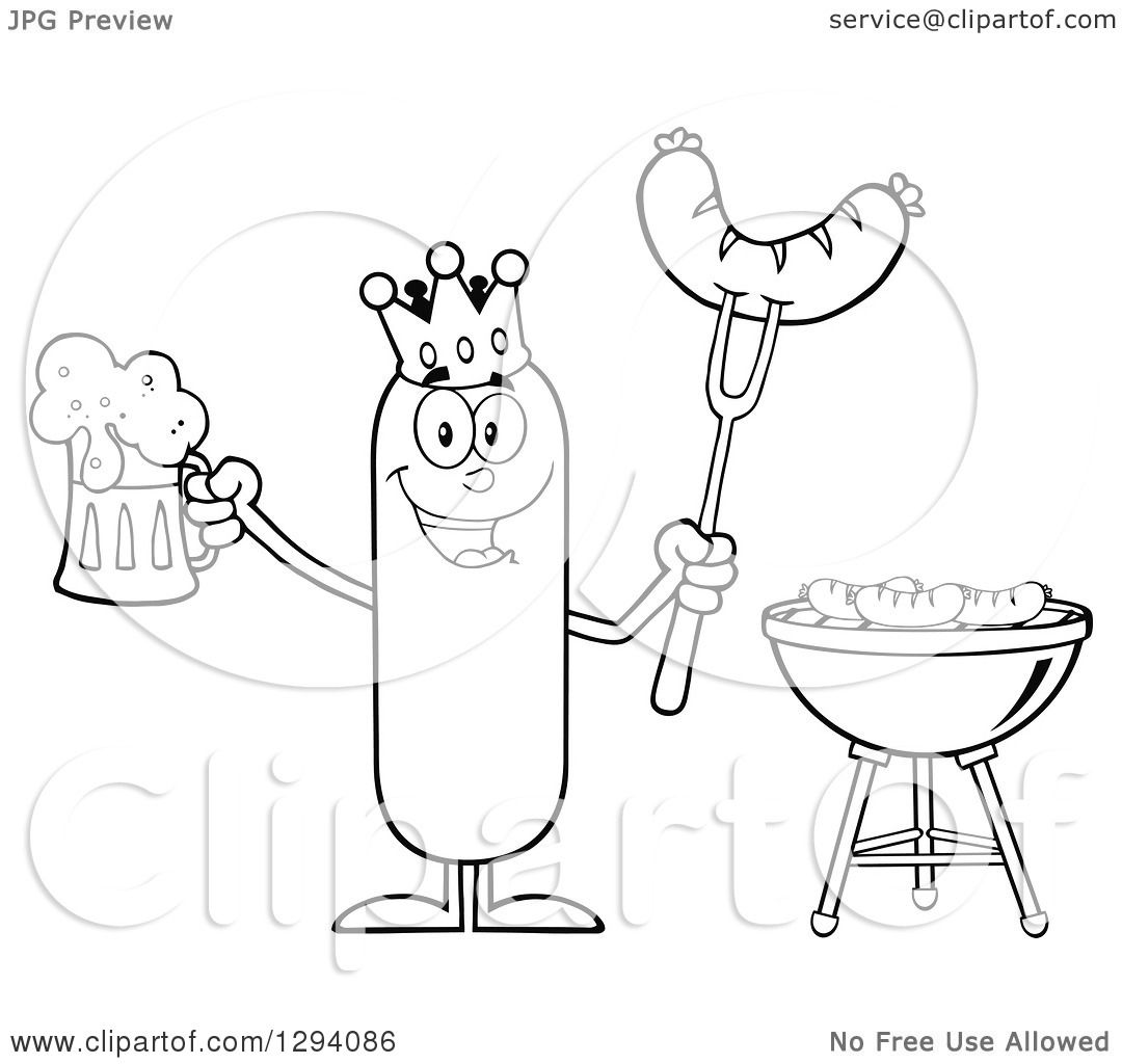 Beer Glass Coloring Pages