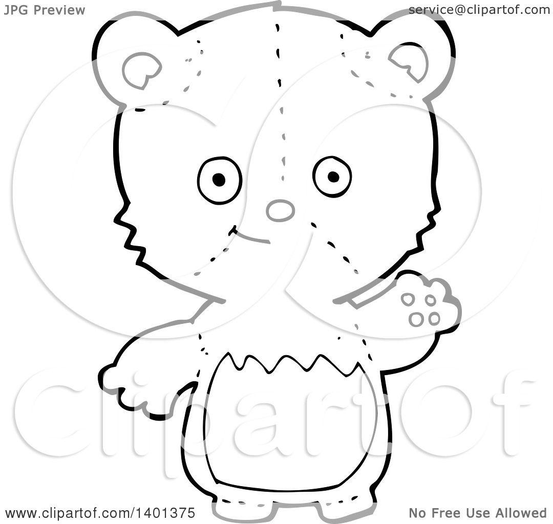 black bear clipart