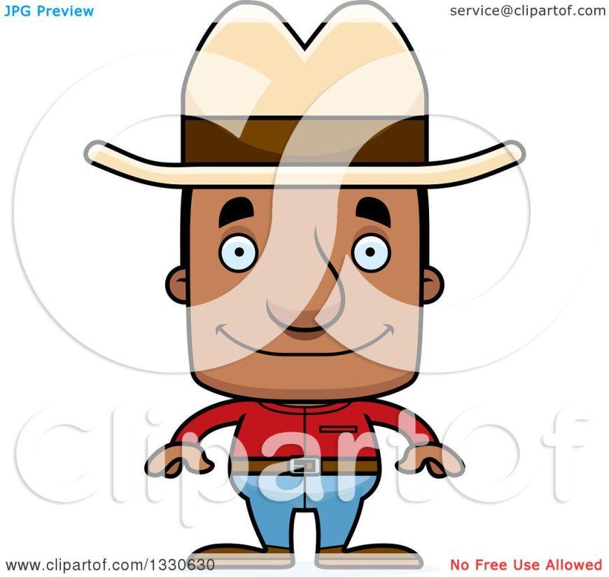Image result for black man cowboy cartoon